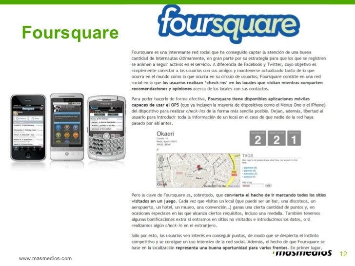 Foursquare www.masmedios.com