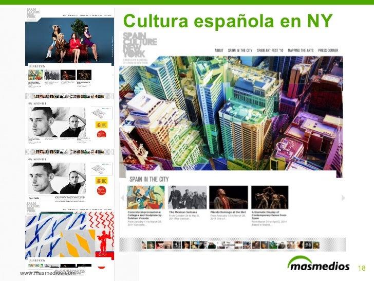 Cultura española en NY www.masmedios.com