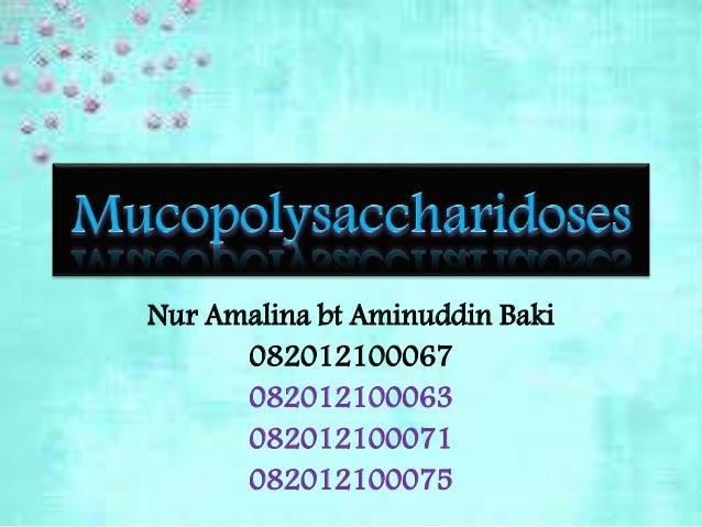 Nur Amalina bt Aminuddin Baki 082012100067 082012100063 082012100071 082012100075