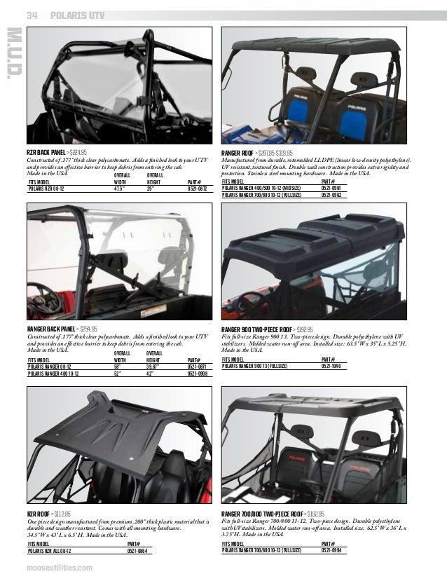 R TireChain.com Polaris Ranger 04-09 25x11-12 ATV UTV Stud Tire Chains