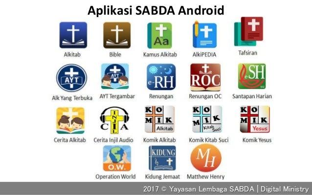 Aplikasi SABDA Android 2017 © Yayasan Lembaga SABDA | Digital Ministry
