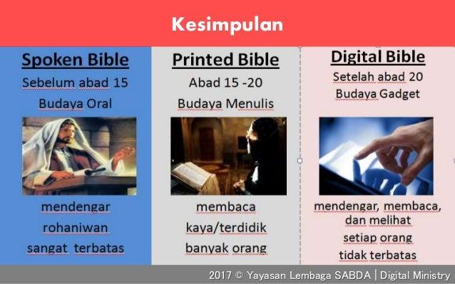 Kesimpulan 2017 © Yayasan Lembaga SABDA | Digital Ministry