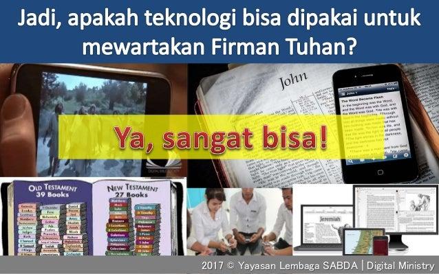 2017 © Yayasan Lembaga SABDA | Digital Ministry