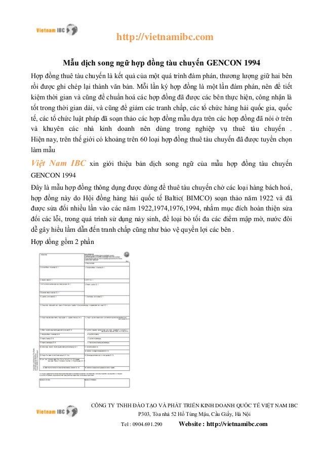 http://vietnamibc.com CÔNG TY TNHH ĐÀO TẠO VÀ PHÁT TRIỂN KINH DOANH QUỐC TẾ VIỆT NAM IBC P303, Tòa nhà 52 Hồ Tùng Mậu, Cầu...