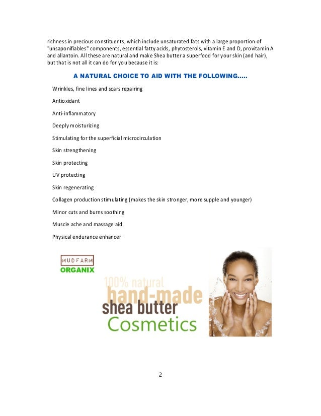 Toronto Shea Butter and Black Soap Company - Fair Trade Organic From Ghana Africa Slide 2