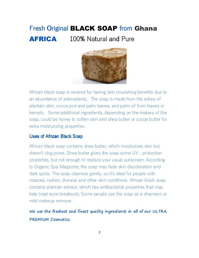 Toronto Shea Butter and Black Soap Company - Fair Trade Organic From Ghana Africa Slide 3