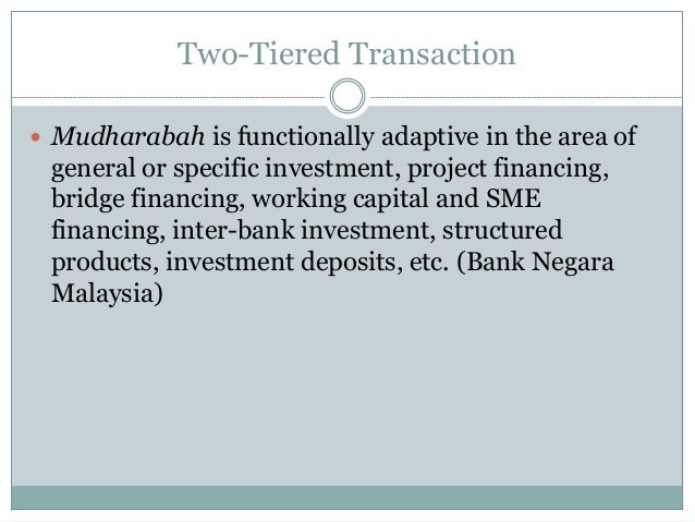 Al-mudharabah investment deposits and al-mudharabah project financing adar investment management abby flamholtz 1985