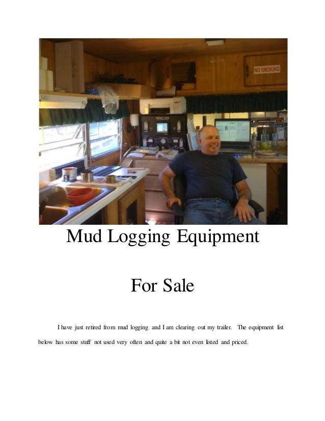 Mud Logging Equipment for Sale