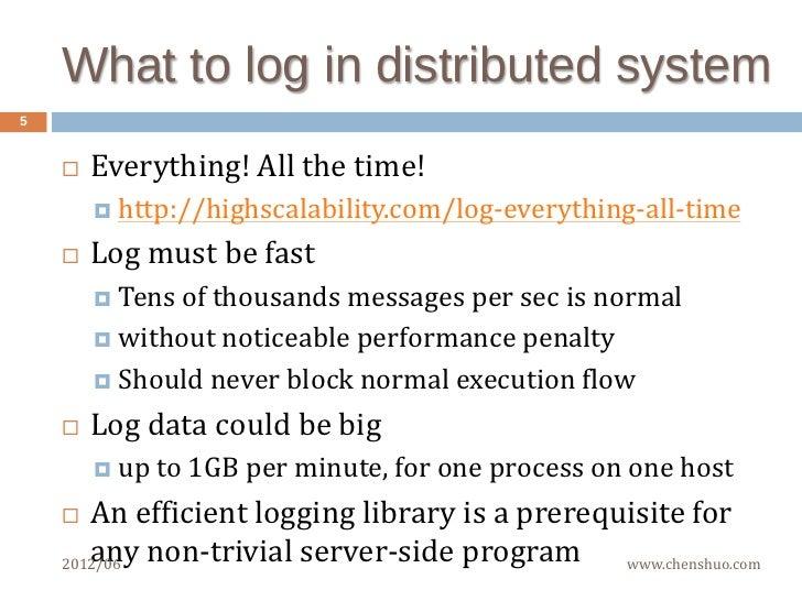 Efficient logging in multithreaded C++ server
