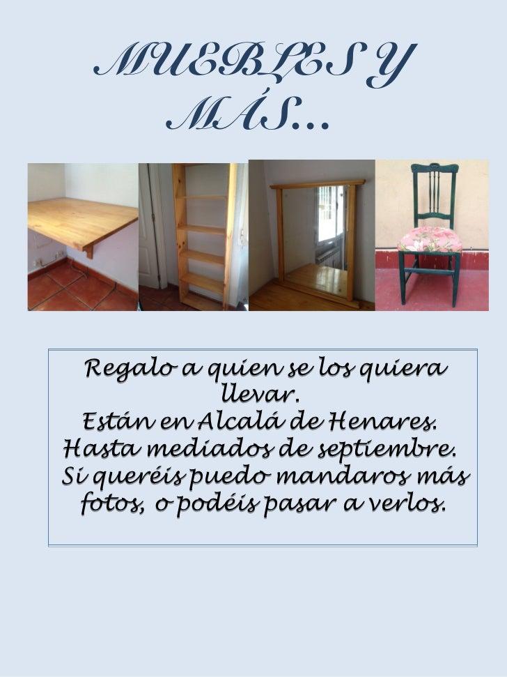 Regalo Muebles En Valencia : Regalo muebles y más