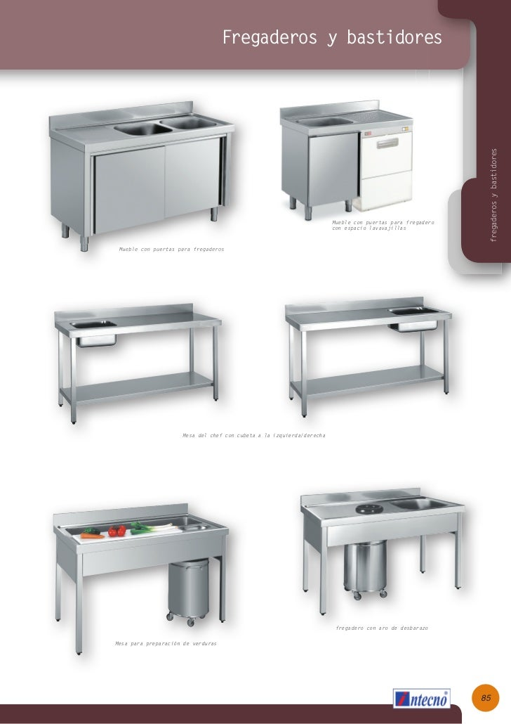 Muebles auxiliares, ANEEHA, INTECNO, Hosteur Group, Catalogo 2012