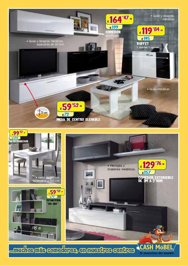 Muebles baratos. Catálogo de Cashmobel