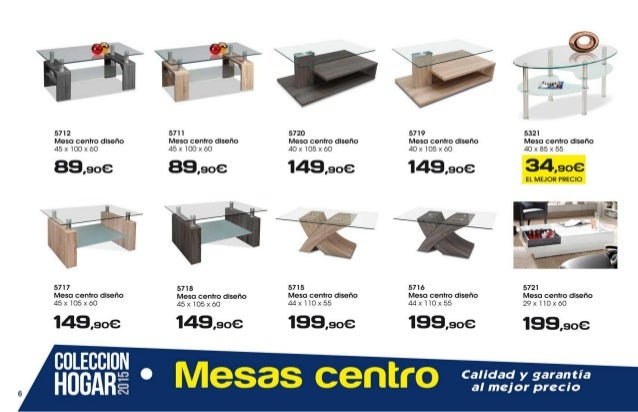 Ahorro total muebles coleccion hogar 2015 for Muebles ahorro total alfafar