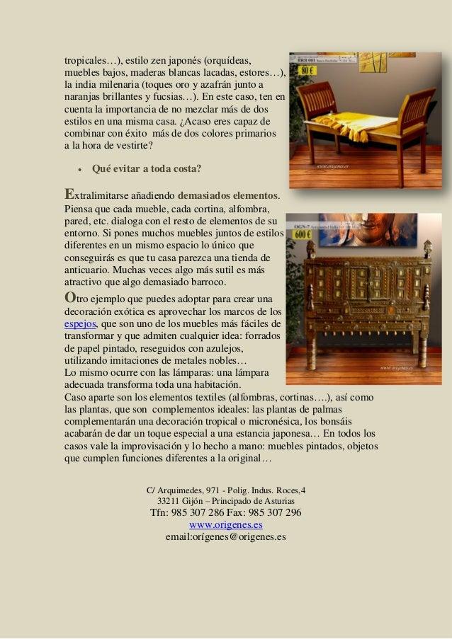 Muebles coloniales la decoraci n de tu casa - Muebles la colonial ...