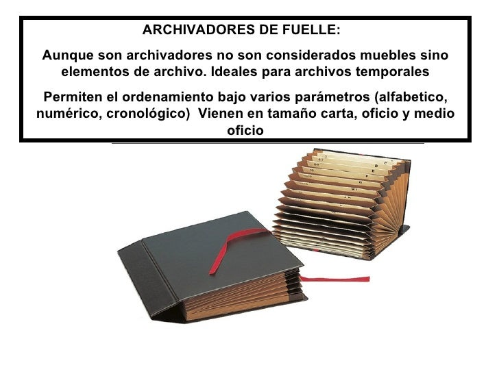 Muebles de archivo