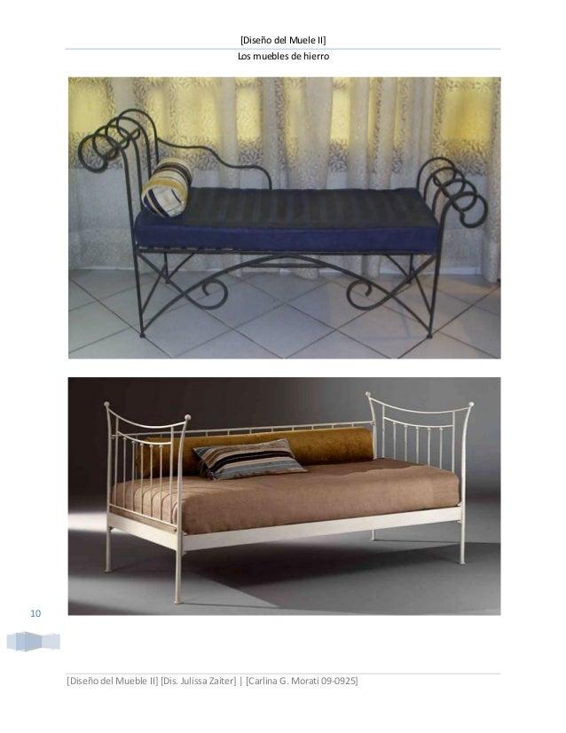 Muebles de hierro for Muebles en hierro