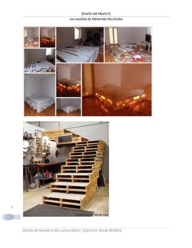 Muebles de materiales reciclables1 - Materiales de muebles ...