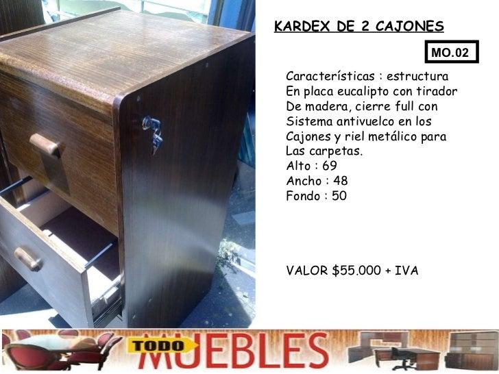 Muebles de oficina kardex for Muebles de oficina concepcion