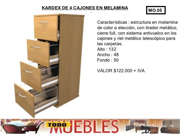 Muebles de oficina kardex for Medidas de muebles para oficina