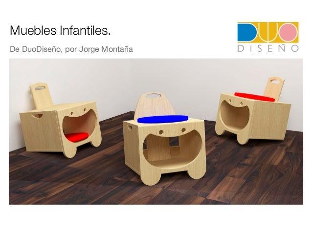 Muebles infantiles multifuncionales