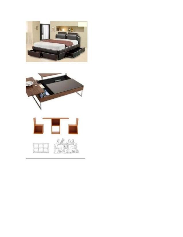 Muebles multifuncionales  (1)