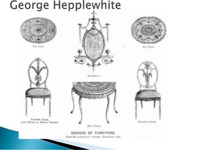 Muebles neocl sico ingles hepplewhite y sheraton - Muebles estilo neoclasico ...