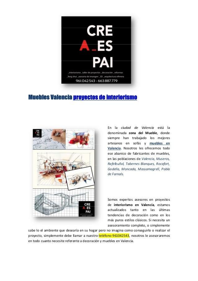 Muebles valencia proyectos de interiorismo - Proyectos de interiorismo valencia ...