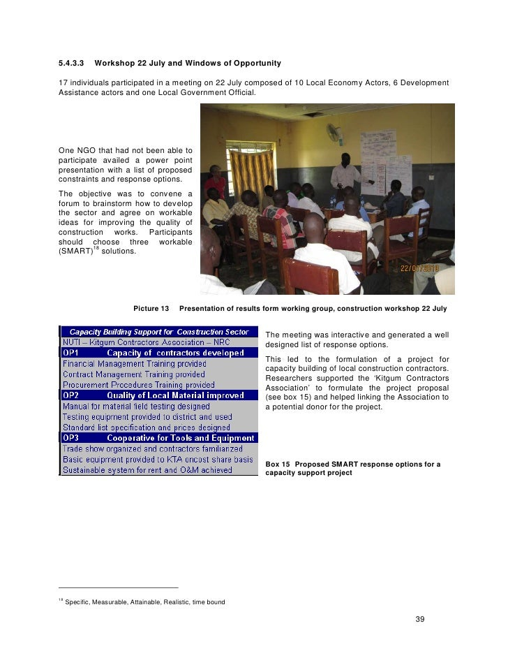 Local economy support in humantiarian assistance
