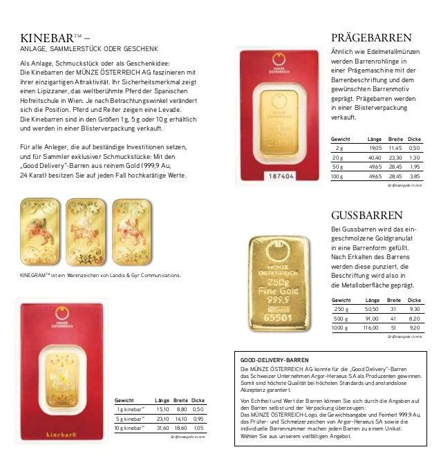 Münze österreich Gold Silber Münzen Barren Anlegen