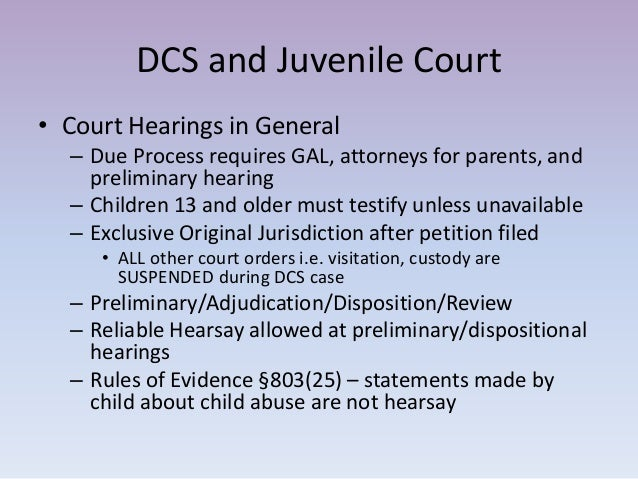 juvenile court proceedings How can the answer be improved.