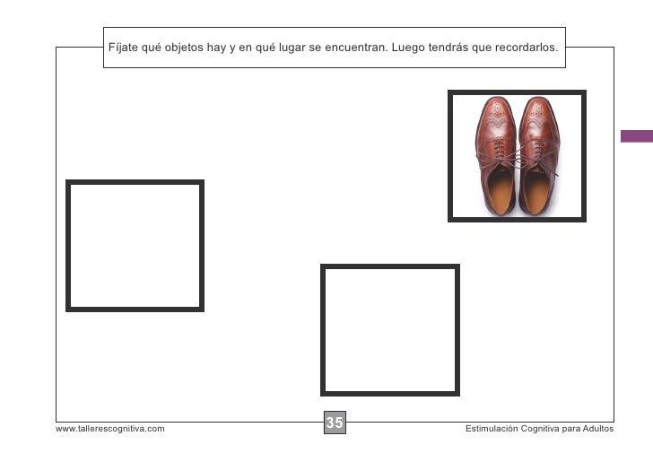 Fíjate qué objetos hay y en            Escribir las instrucciones...qué lugar se encuentran. Luego tendrás que recordarlos...