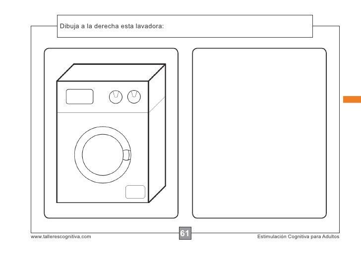 Dibuja a la instrucciones...            Escribir las derecha esta lavadora:www.tallerescognitiva.com                      ...