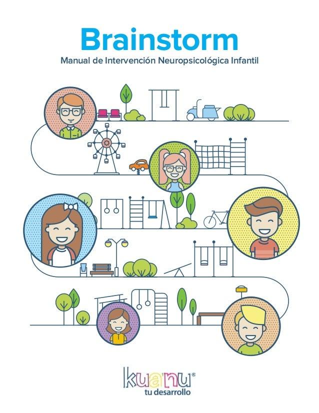 Manual de Intervención Neuropsicológica Infantil Brainstorm