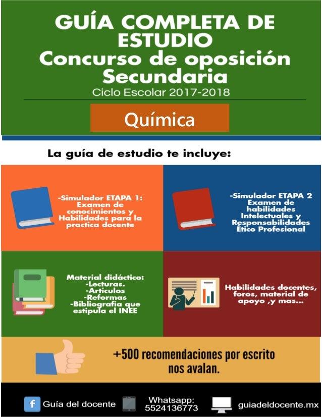 Examen de oposicion secundaria qumica examen de oposicion secundaria qumica qumica urtaz Image collections