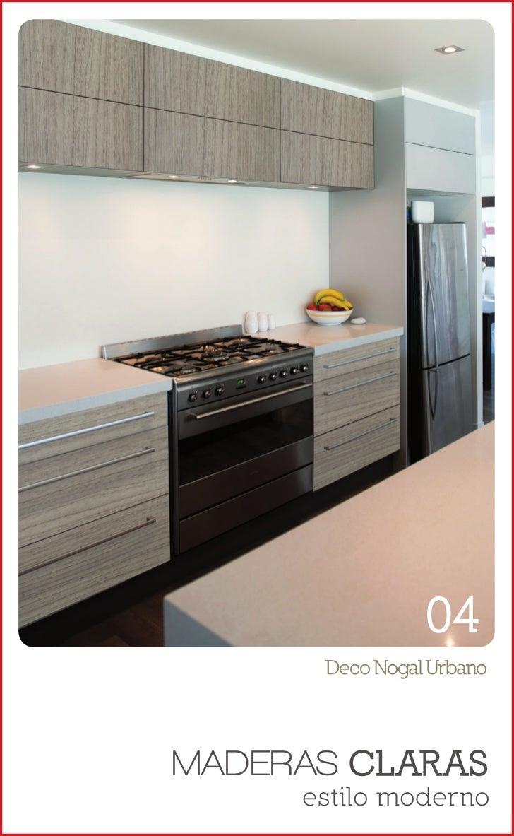 Muestrario masisa deco 2012 for Muestrario de cocinas