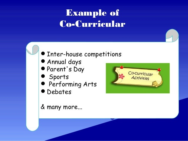 Role Of Co Curricular Activities In Students Life