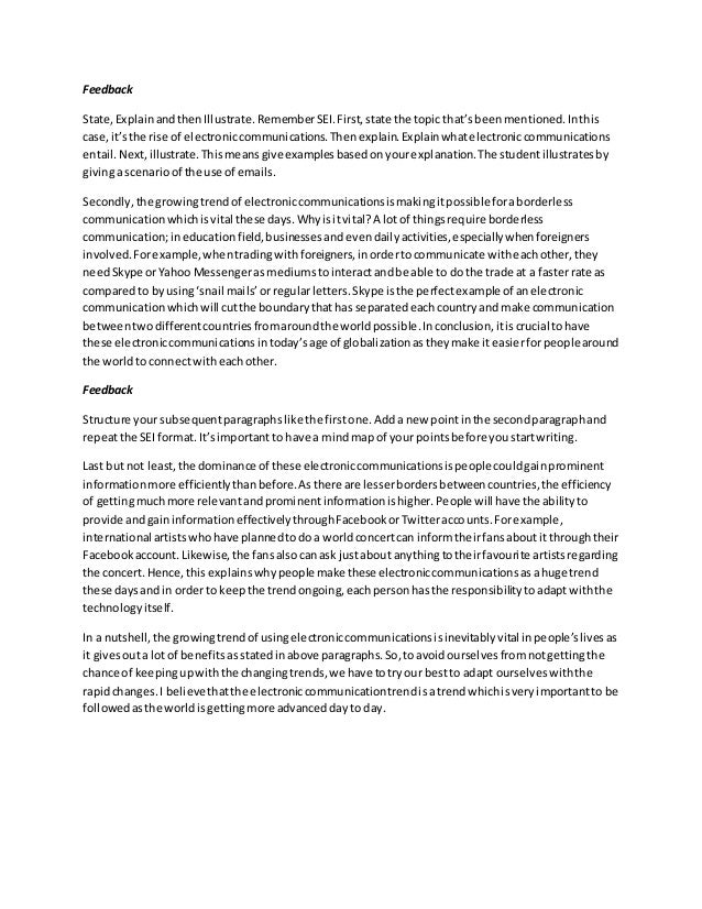 band 4 essay