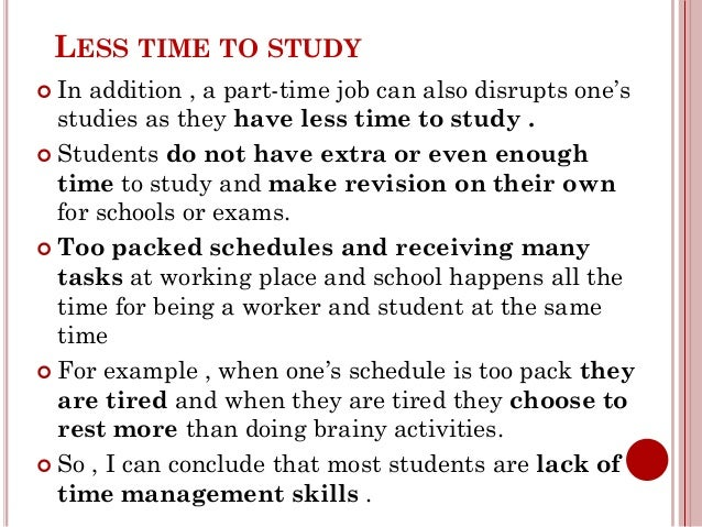 6 Benefits Of Having A Part-Time Job At School
