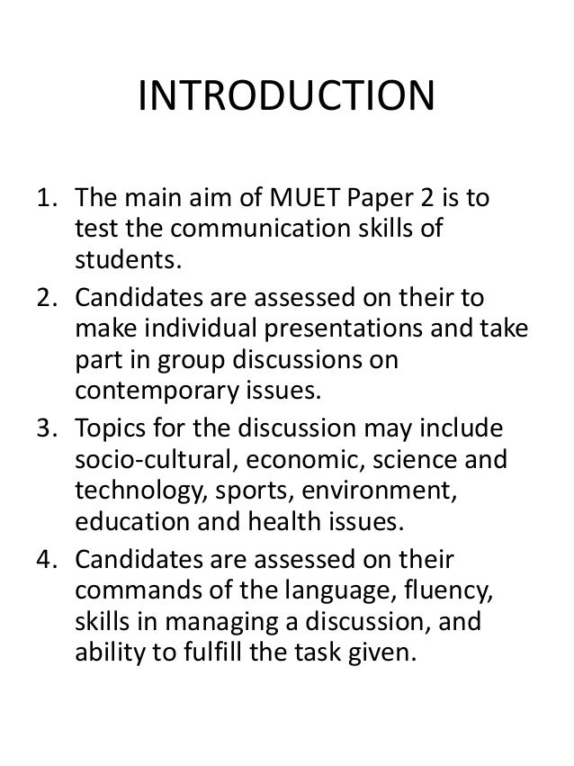 muet essay past year question Past year questions muet malaysian university english test (muet) paper 4 (writing) you are advised to spend about 50 minutes on this task  mid year 2011 muetyou are advised to spend about 50 minutes on this task.
