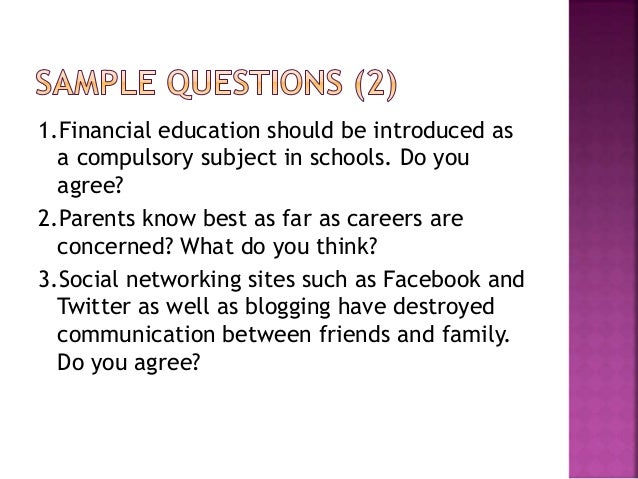 parents know best as far as careers are concerned muet essay