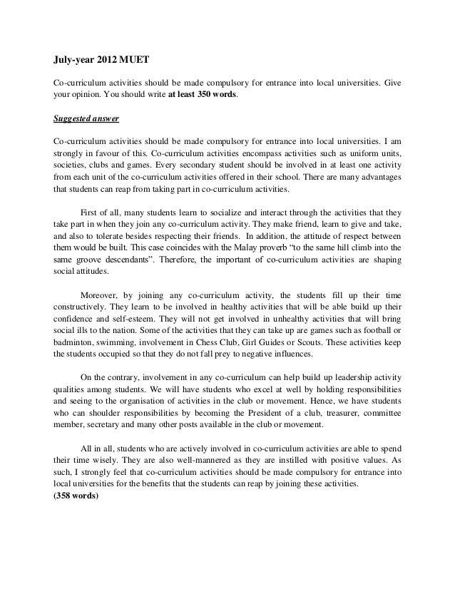 Argumentative Essay Sample Muet Test - image 2