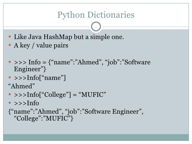 java hash map or dictionary