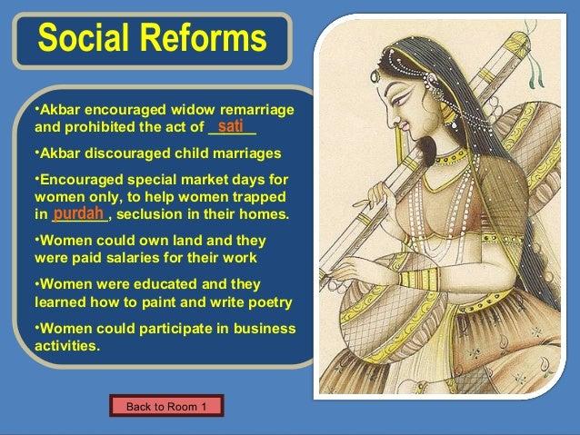 Social Reforms of Akbar