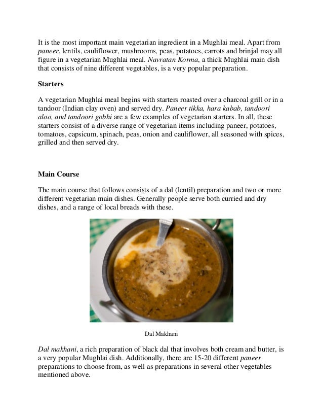 Mughlai food for vegetarians pdf paneer or cottage cheese makhani 3 forumfinder Gallery