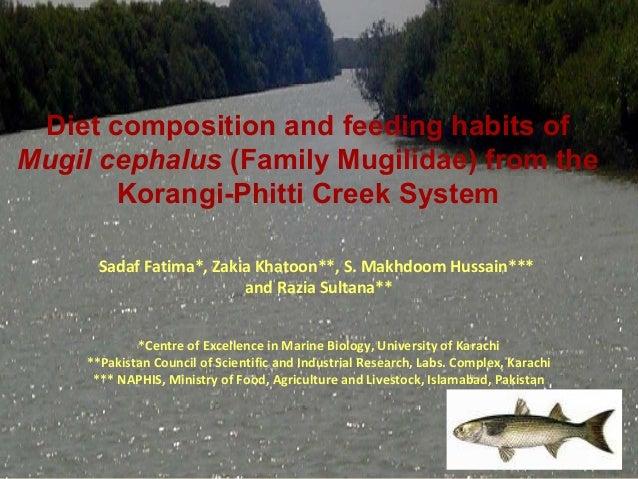 Sadaf Fatima*, Zakia Khatoon**, S. Makhdoom Hussain***and Razia Sultana***Centre of Excellence in Marine Biology, Universi...