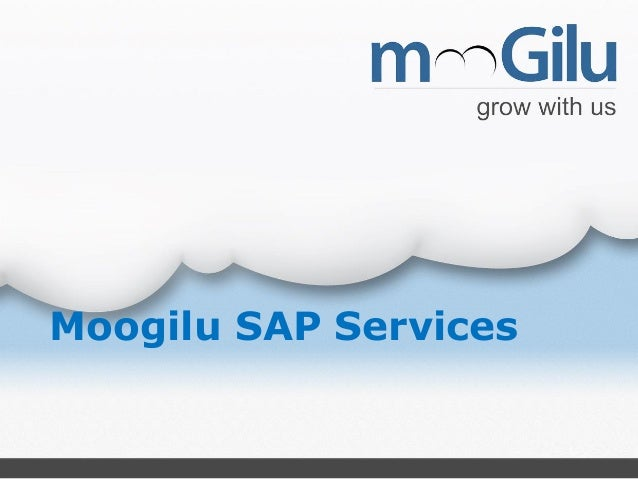 Moogilu SAP Services