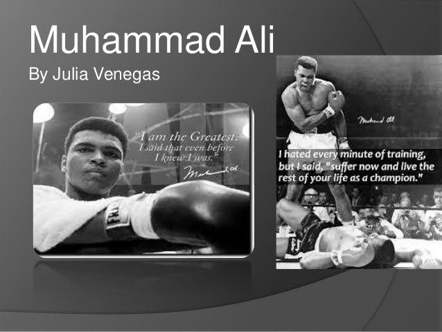 Muhammad AliBy Julia Venegas