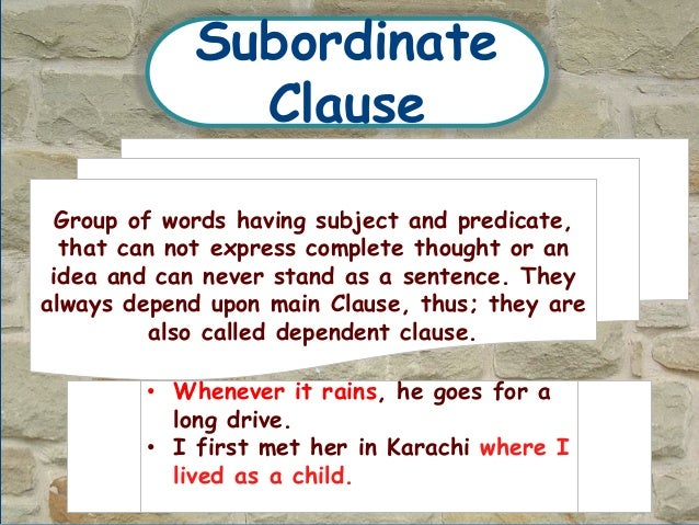 phrase sentence and clause