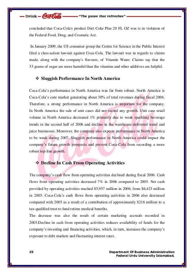 6552c550417 International Business Activities Of Coca Cola company