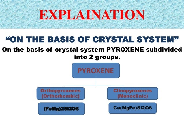 PYROXENE GROUP OF MINERALS PDF DOWNLOAD
